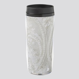 boho chic french lace 16 oz Travel Mug