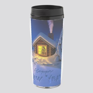 Happy New Year 16 oz Travel Mug