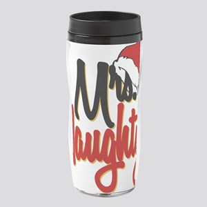 Christmas Mrs Naughty 16 oz Travel Mug