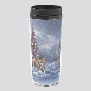 Christmas Landscape 16 oz Travel Mug