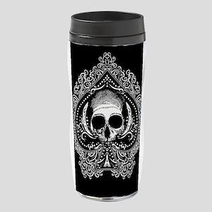 ace-spades-skull_12x18 16 oz Travel Mug