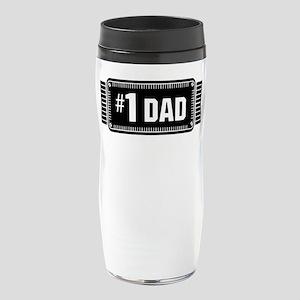Number One Dad Best Dad Ever Love 16 oz Travel Mug