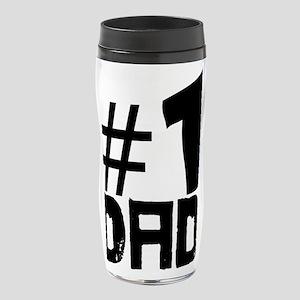#1 Dad 16 oz Travel Mug