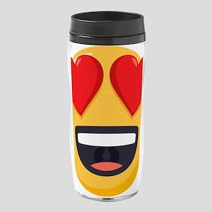 Heart Eyes Emoji 16 oz. Travel Mug