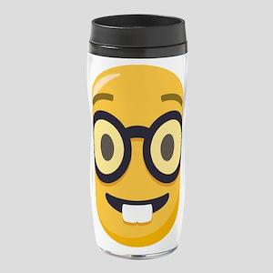 Nerd-face Emoji 16 oz Travel Mug