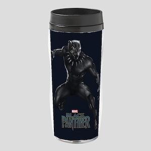 Black Panther Pose 16 oz Travel Mug