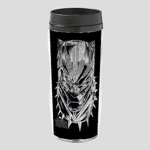 Black Panther Mask 16 oz Travel Mug