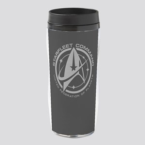 Grey Starfleet Command Emblem 16 oz Travel Mug