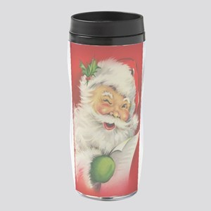Vintage Christmas Santa Claus 16 oz Travel Mug