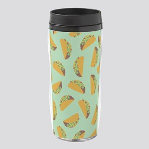 Taco Pattern 16 oz Travel Mug