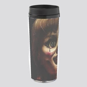 Annabelle Evil Doll Face 16 oz Travel Mug