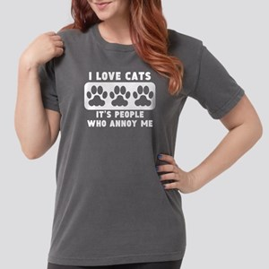 35b86e5ac I Love Cats People Annoy Me T-Shirt