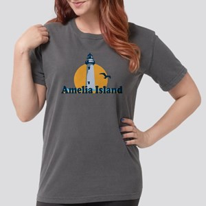 Amelia Island - Lighthouse Design. T-Shirt