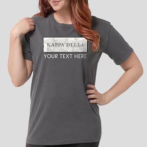 Kappa Delta Marble Per Womens Comfort Colors Shirt
