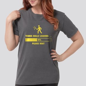 Tennis Skills Loading Women's Dark T-Shirt