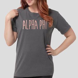 Alpha Phi Womens Comfort Colors Shirt