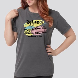 Retro Trailer Retired Womens Comfort T-Shirt