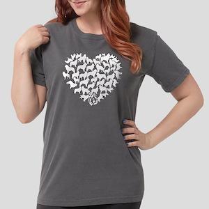 Belgian Sheepdog Heart Womens Comfort Colors Shirt