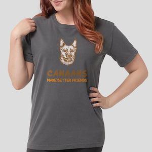 Canaan DogB Womens Comfort Colors Shirt