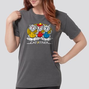 Cat-Trek-blk Womens Comfort Colors Shirt