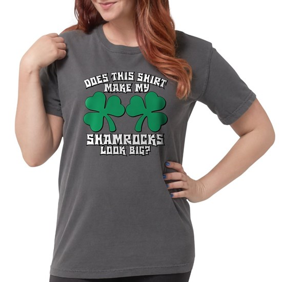 Shamrocks Look Big?