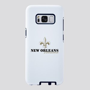 New Orleans Louisiana gold Samsung Galaxy S8 Case