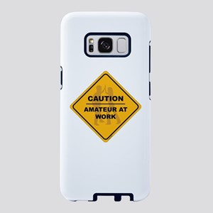 Amateur At Work Samsung Galaxy S8 Case