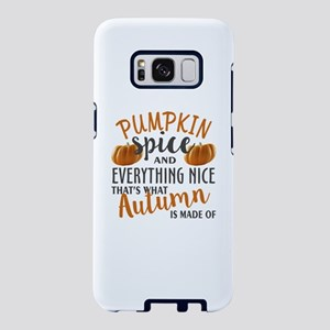 Pumpkin Spice and Everythin Samsung Galaxy S8 Case