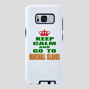 Keep Calm And Go To Marshal Samsung Galaxy S8 Case