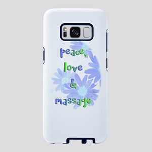 Peace, Love and Massage Samsung Galaxy S8 Case
