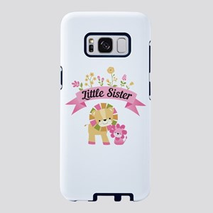 Little Sister Lions Samsung Galaxy S8 Case