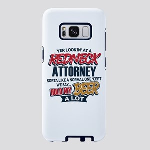 Redneck Attorney Samsung Galaxy S8 Case