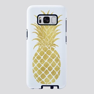Gold Glitzy Pineapple Samsung Galaxy S8 Case