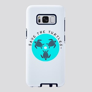 SAVE THE TURTLES LOGO Samsung Galaxy S8 Case