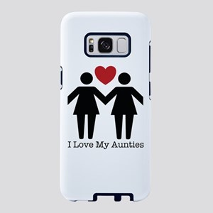 I Love My Aunties Samsung Galaxy S8 Case