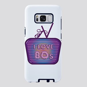 I Love 80's TV Samsung Galaxy S8 Case