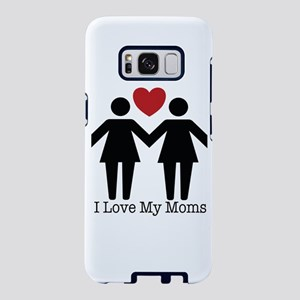 I Love My Moms Samsung Galaxy S8 Case