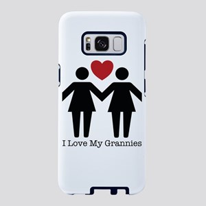 I Love My Grannies Samsung Galaxy S8 Case