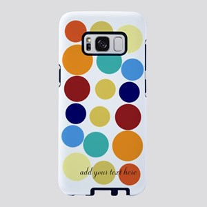 Personalized Bright Multico Samsung Galaxy S8 Case