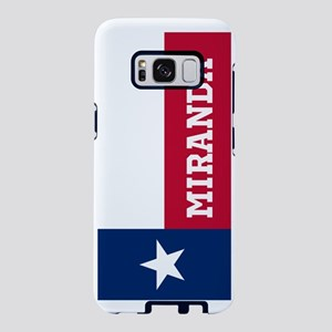 Monogram Flag of Texas Samsung Galaxy S8 Case