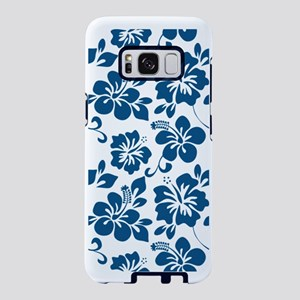 Blue Hibiscus Samsung Galaxy S8 Case