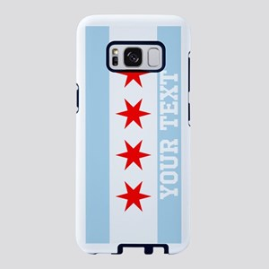 Monogram Chicago Flag Samsung Galaxy S8 Case