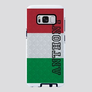 Monogram Italian Flag Damas Samsung Galaxy S8 Case