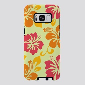 Light teal-orange-pink-yell Samsung Galaxy S8 Case