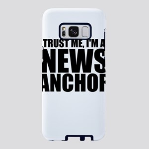 Trust Me, I'm A News Anchor Samsung Galaxy S8