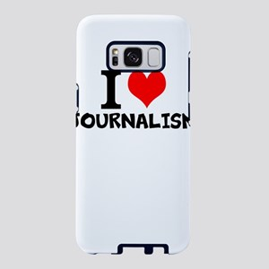 I Love Journalism Samsung Galaxy S8 Case