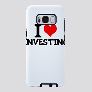 I Love Investing Samsung Galaxy S8 Case