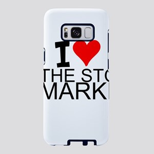 I Love The Stock Market Samsung Galaxy S8 Case