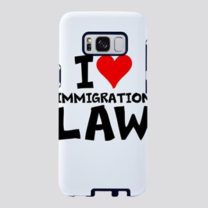 I Love Immigration Law Samsung Galaxy S8 Case