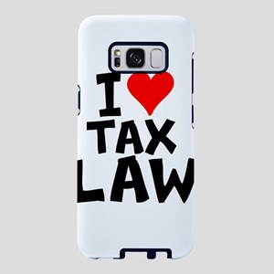 I Love Tax Law Samsung Galaxy S8 Case